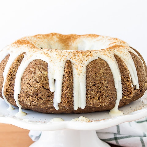 Spiced Carrot Cake with Butterscotch Cream Cheese Frosting