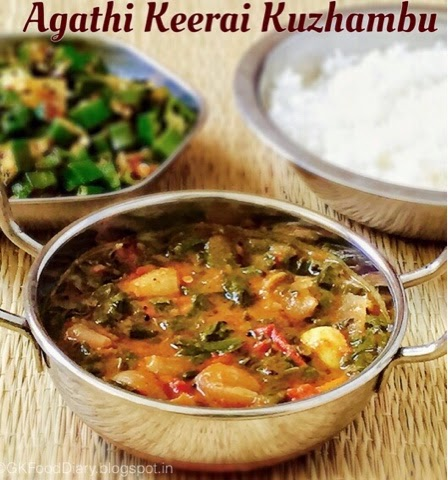 Agathi Keerai Recipe