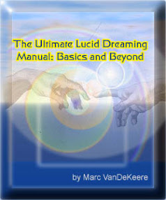 Cover of Marc Vandekeere's Book The Ultimate Lucid Dreamers Manual From Basics To Beyond