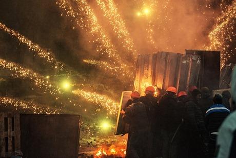 protest ukraine kiev