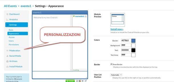 personalizzare-chatroll