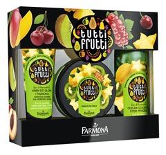 FARMONA Tutti Frutti zestaw Kiwi&Karambola 3el