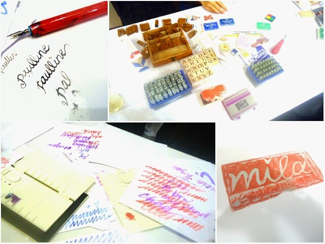 craftMNL Rubber Stamp Calligraphy