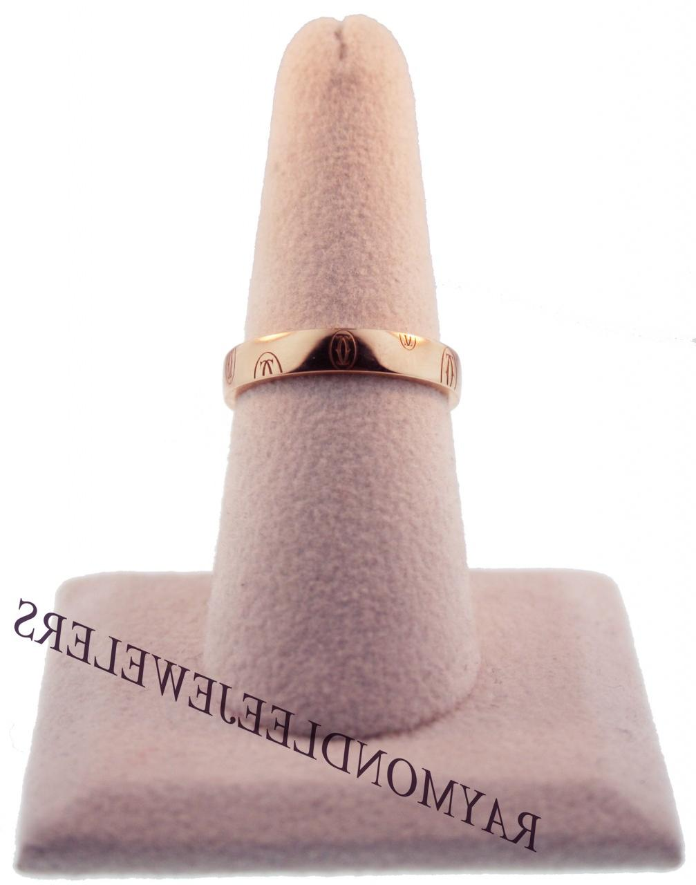 Cartier 18K Rose Gold Happy