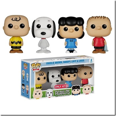 Funko Peanuts Pop Mini 4 USD 19.99