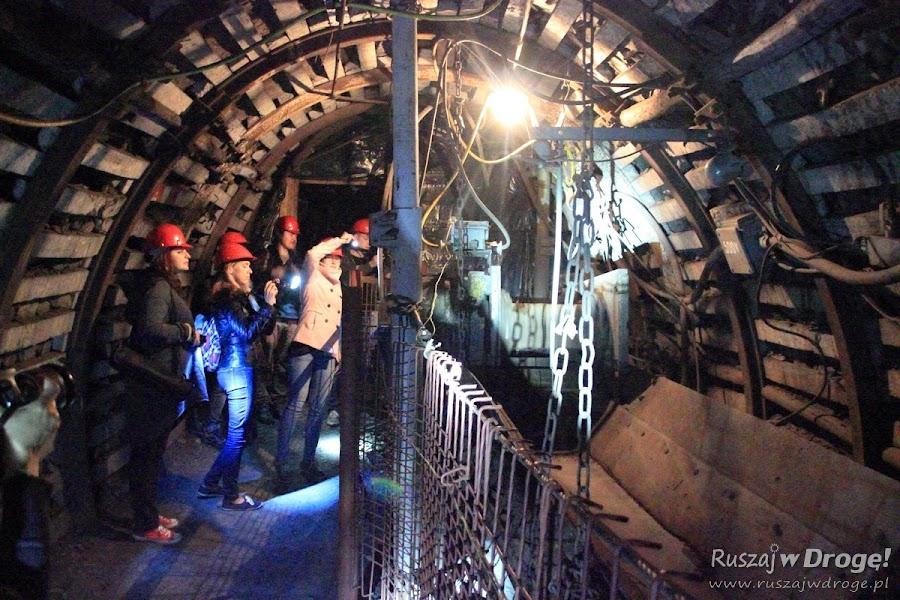 Podziemne maszyny w Kopalni GUIDO