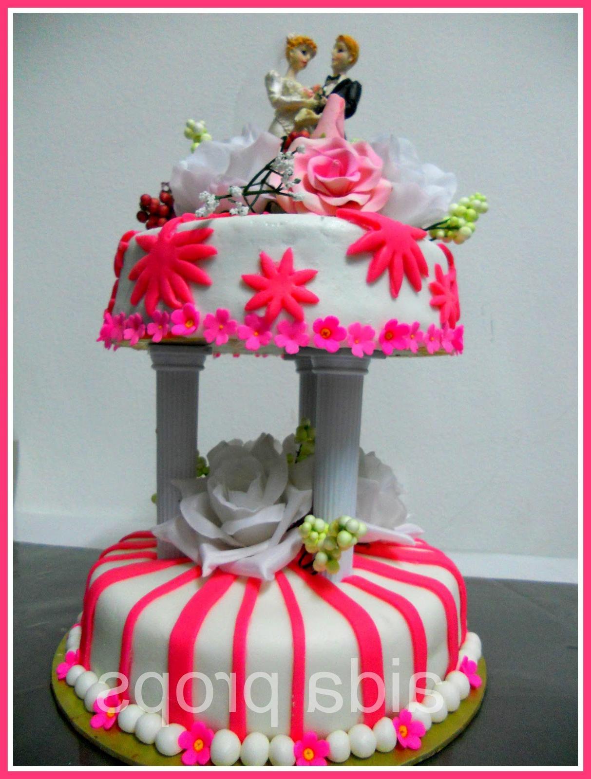 2 Responses to  fondant cake