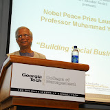 Professor Muhammad YunusNobel Peace Prize Laureate2010 Impact Speakers SeriesCollege of ManagementGeorgia Institute of Technology