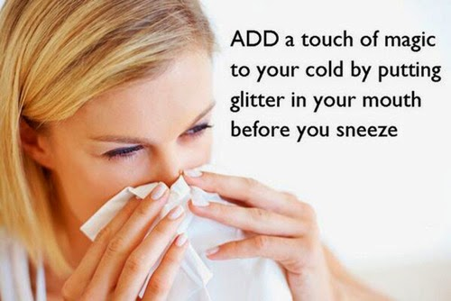 Works for allergy season too...