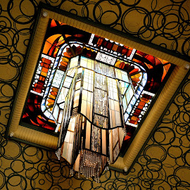 Art deco chandelier by Heather Aplin - Buildings & Architecture Architectural Detail