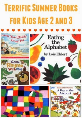 Summer Books and Summer Projects for Kids Age 2 and 3