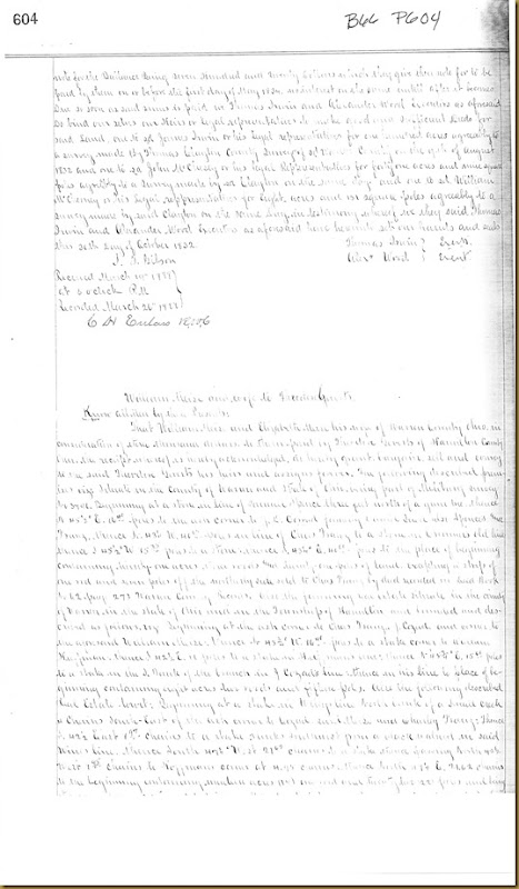 James Irwin buys land in Warren Co. Ohio on 25 May 1832_0002