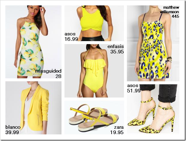 Amarillo tendencia verano 04