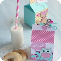 19 - sizzix big shot - milk box - party - bomboniere - fustelle