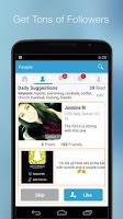 Screenshot of FriendLife