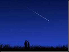 Shooting stars in Iowa