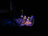 Ricky Skaggs and Barry Gibb singing at the Ryman Auditorium in Nashville TN 07262012-06