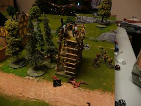 Orcs shooting ghasts in a barrel?