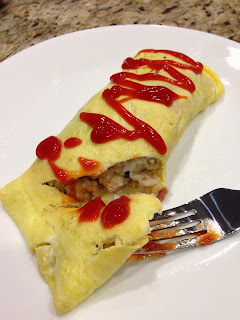Omuraisu (Fried Rice Omelette)