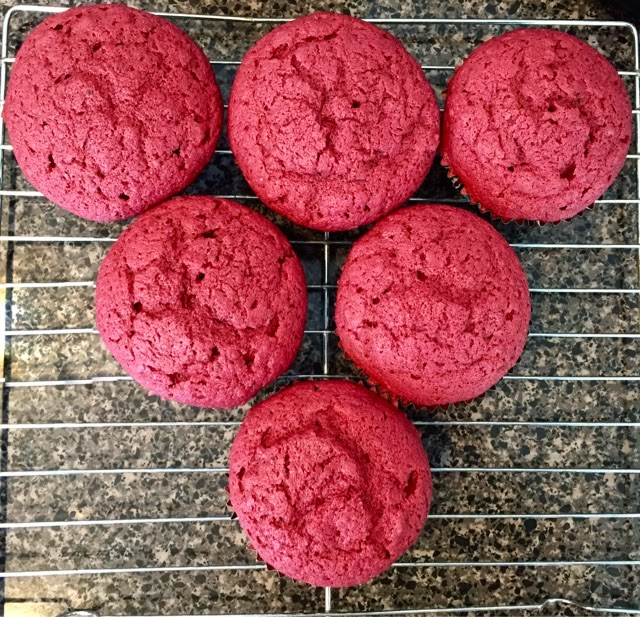 natural red velvet cupcakes with goat cheese-thyme frosting ...
