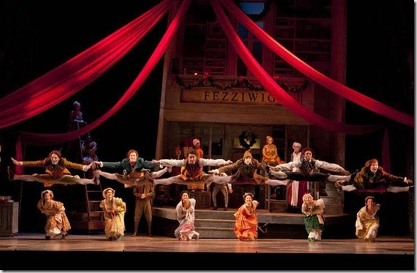 ChristmasCarol dancers