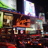 times square in new york city in New York City, New York, United States