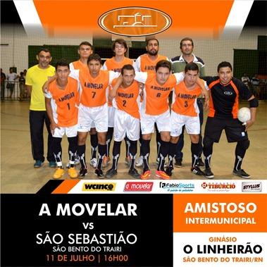 A Movelar x São Sebastião - Amistoso São Bento do Trairi - 11.07
