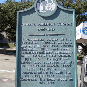 A roughhewn soldier of the Revolution, Thomas played a key role in the West Florida Rebellion, 1810, and served as district military commander in the Battle of New Orleans, 1815. The distinguished ...