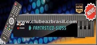 SATBOX FANTASTICO S1055 HD NOVA ATUALIZAÇÃO - V 3.20