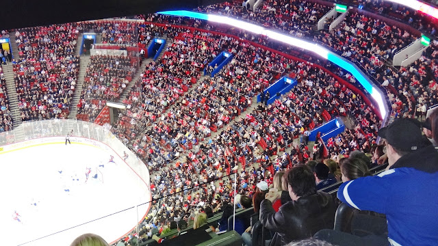 bell centre ice hockey game in Montreal, Quebec, Canada