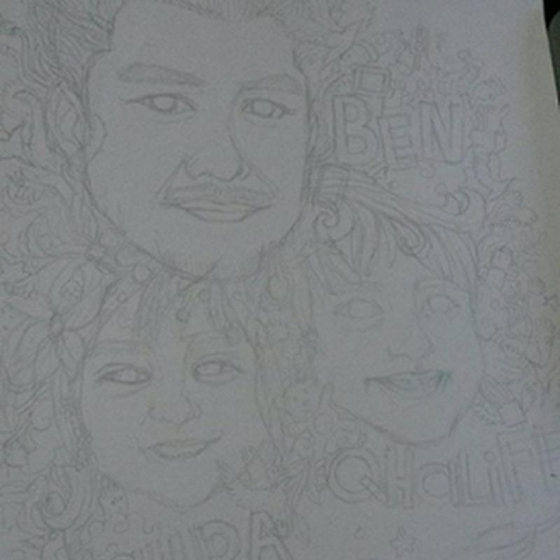 Baju Doodle Ben Ashaari !