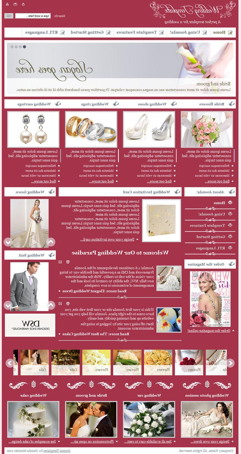 JM-Wedding05, Wedding Template