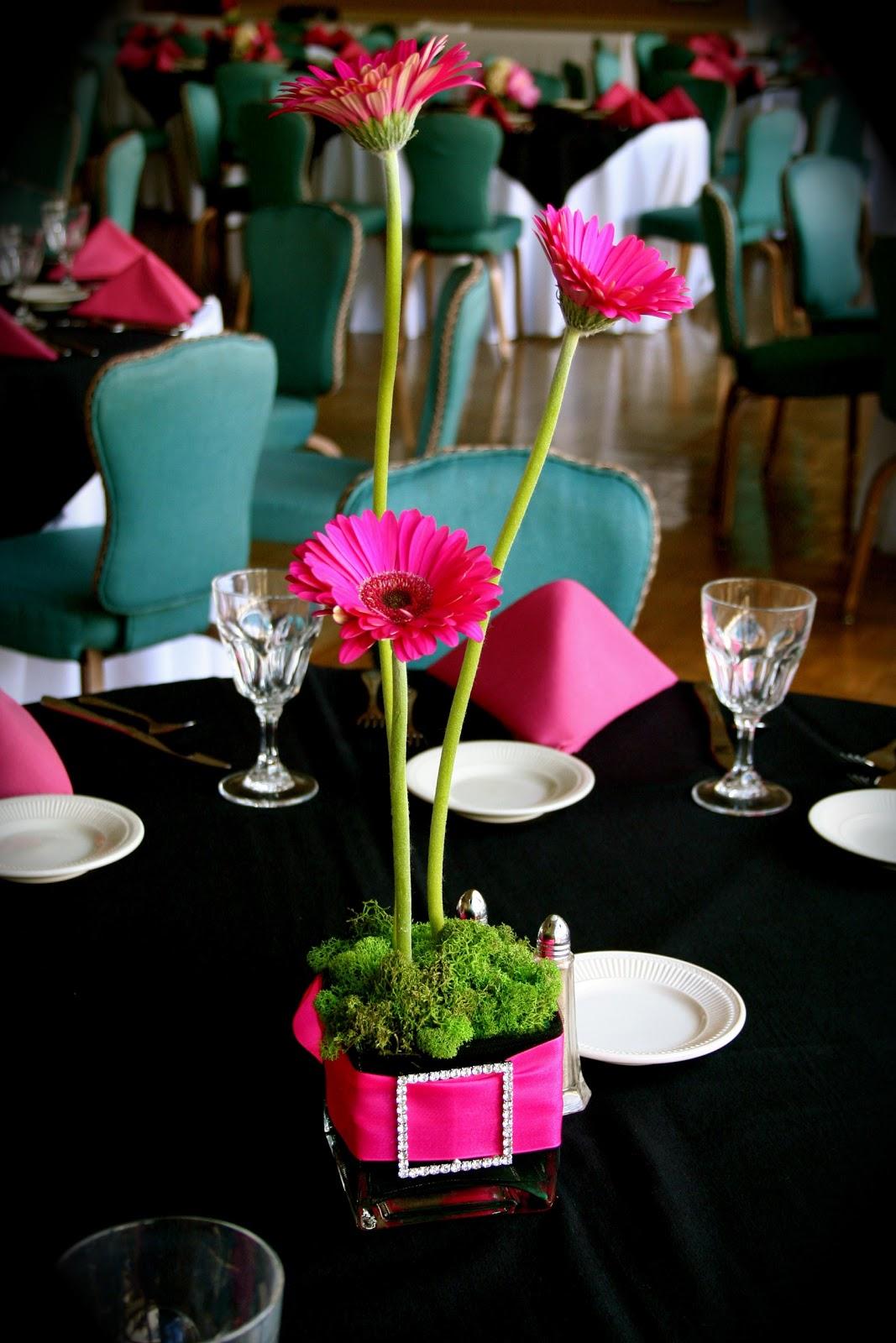 bling centerpieces wedding