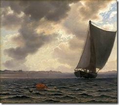 Sejlere i Guldborgsund by Vilhelm Kyhn