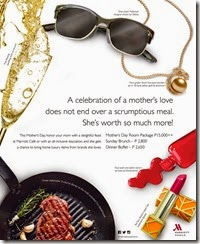 Celebrate Mothers Day in Luxury at Marriott Manila