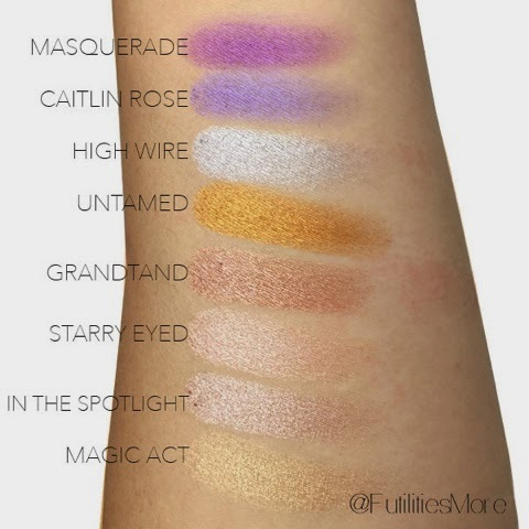 Makeup Geek foiled eyeshadows review and swatches
