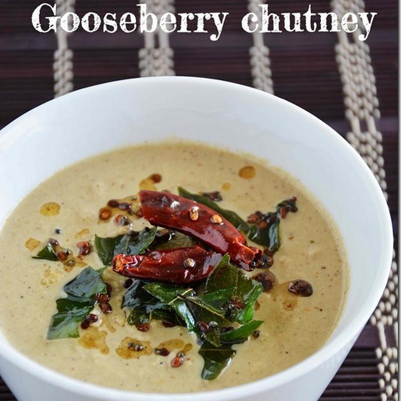 Gooseberry chutney