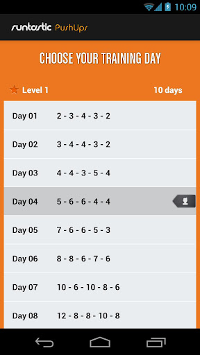 Runtastic Push-Ups Workout PRO screenshot 6