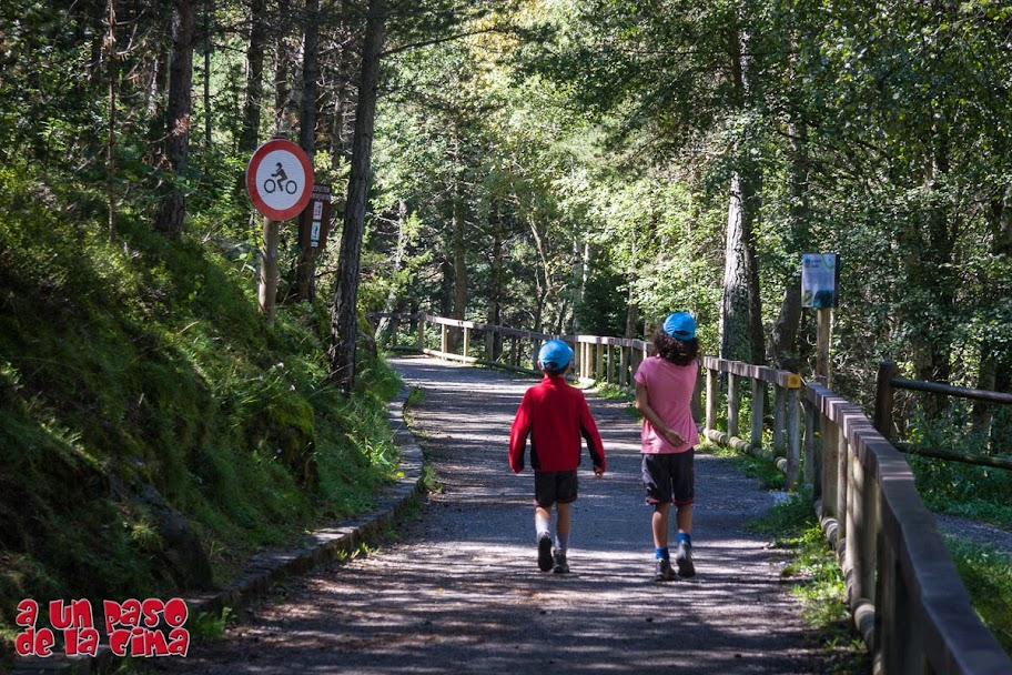 Camino Accesible de las fuentes. ©aunpasodelacima