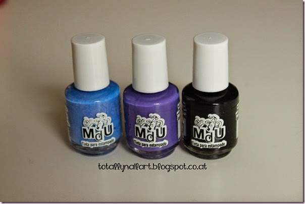 MdU - Holland Blue ; MdU - Fantasy ; MdU - Black