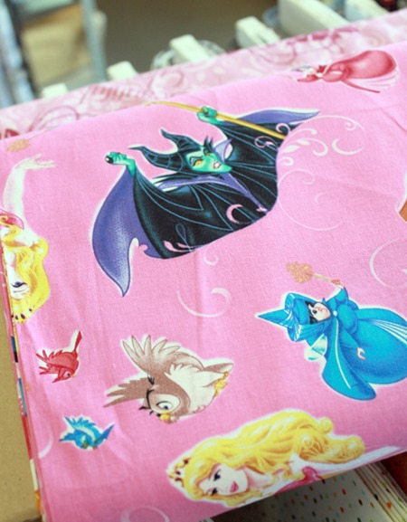 Disney Princess fabric 3