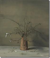 Michaël BorremansMagnolias2013140 x 120,5 cmoil on canvas