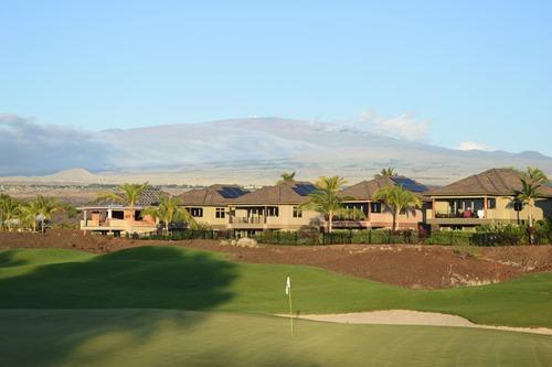 ハワイ島のゴルフ場