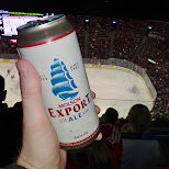 molsen export ale at the bell centre in Montreal, Quebec, Canada