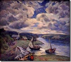 carlos-isamit-lanchas-en-campu-pintores-latinoamericanos-juan-carlos-boveri