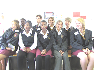 School Newspaper Editorial Team 2012