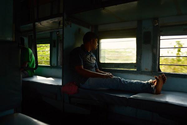 индия поезд слипер вагон