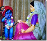 [Yashoda tying Krishna]