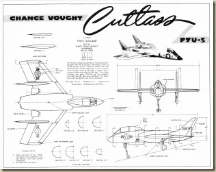 Chance Vought F7U-3 Cutlass