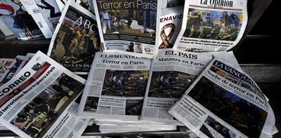 Paris media coverage